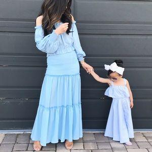 Dresses & Skirts - Matching off-the-shoulder top & skirt
